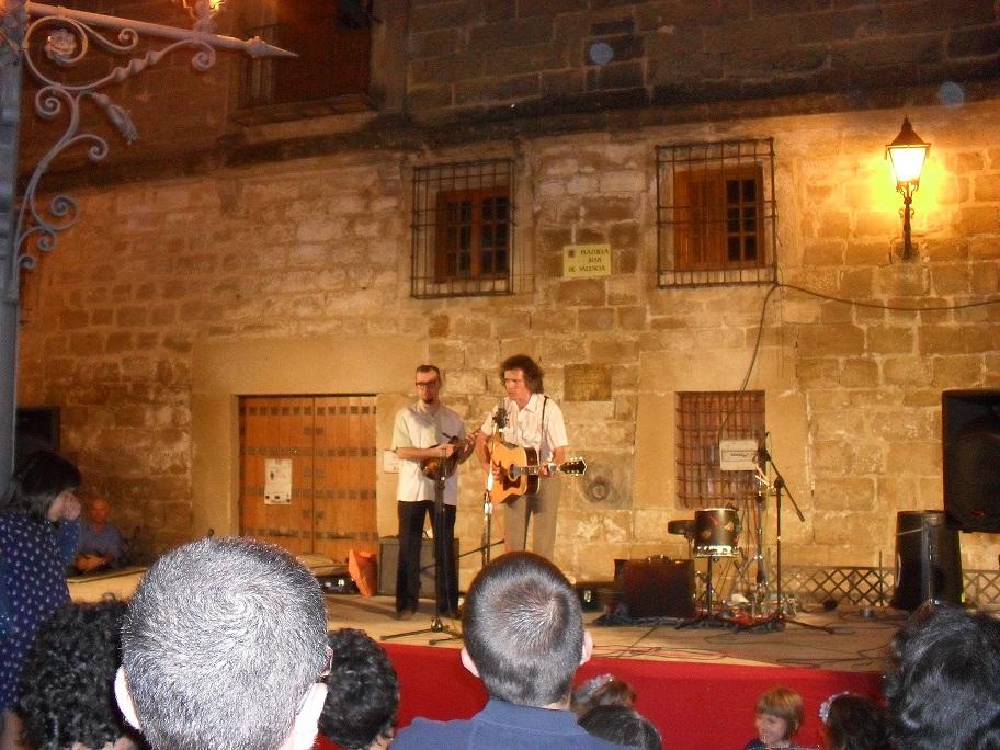 Los Hermanos Cubero en Directo// Fuente: Música Commons